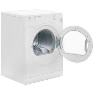 Hotpoint Aquarius TVFM70BGP Vented Tumble Dryer - White - TVFM70BGP_WH - 4
