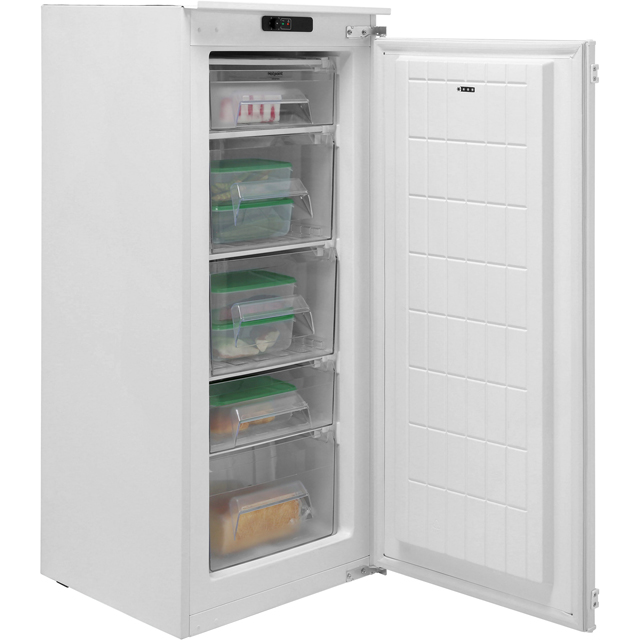 Hotpoint U12A1D/H.1 Integrated Upright Freezer with Fixed Door Fixing Kit - A+ Rated - U12A1D/H.1_WH - 1