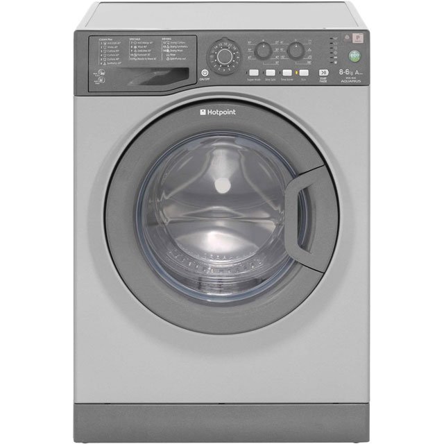 Hotpoint WDAL8640G 8Kg / 6Kg Washer Dryer with 1400 rpm - Graphite - A Rated - WDAL8640G_GH - 1