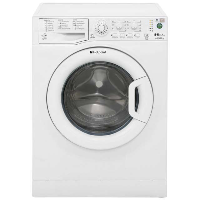 Hotpoint WDAL8640P Washer Dryer - White - WDAL8640P_WH - 1
