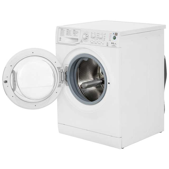 Hotpoint WDAL8640P Washer Dryer - White - WDAL8640P_WH - 2
