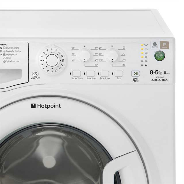 Hotpoint WDAL8640G Washer Dryer - Graphite - WDAL8640G_GH - 4