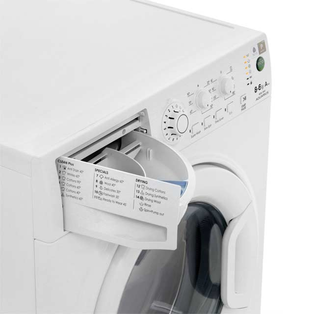 Hotpoint WDAL8640P Washer Dryer - White - WDAL8640P_WH - 5