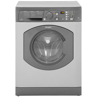 Hotpoint Aquarius+ WDF740G Free Standing Washer Dryer in Graphite