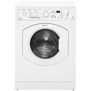 Hotpoint Aquarius+ WDF740P 7Kg / 5Kg Washer Dryer with 1400 rpm - Polar White - B Rated - WDF740P_WH - 1