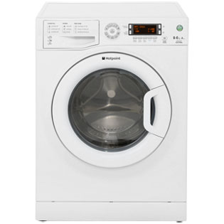 Hotpoint Aquarius WDXD8640P 8Kg / 6Kg Washer Dryer - White - WDXD8640P_WH - 1