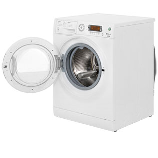Hotpoint Aquarius WDXD8640P 8Kg / 6Kg Washer Dryer - White - WDXD8640P_WH - 2