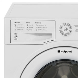 Hotpoint Aquarius WDXD8640P 8Kg / 6Kg Washer Dryer - White - WDXD8640P_WH - 3