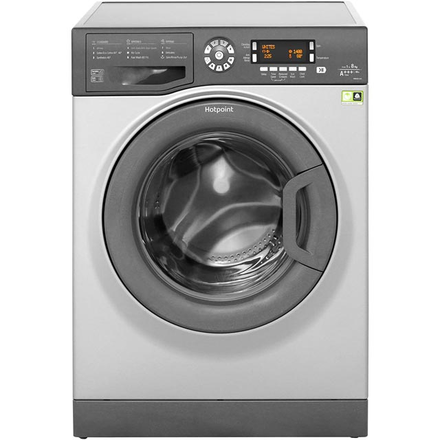 Hotpoint WMAOD844G 8Kg Washing Machine with 1400 rpm - Graphite - A+++ Rated - WMAOD844G_GH - 1