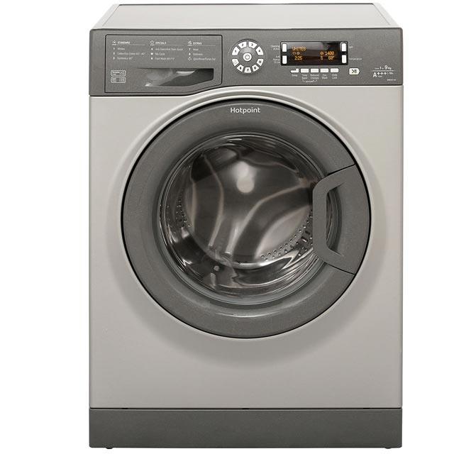 Hotpoint WMAOD944G 9Kg Washing Machine with 1400 rpm - Graphite - A+++ Rated - WMAOD944G_GH - 1