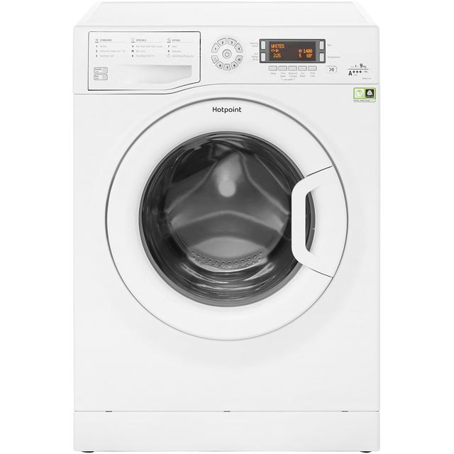 Hotpoint WMAOD944P 9Kg Washing Machine with 1400 rpm - White - A+++ Rated - WMAOD944P_WH - 1