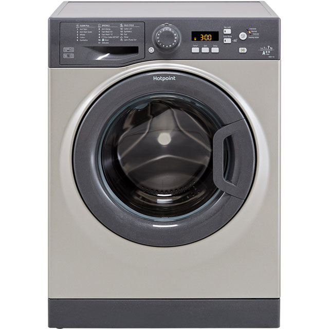 Hotpoint WMBF742GUK 7Kg Washing Machine with 1400 rpm - Graphite - A++ Rated - WMBF742GUK_GH - 1