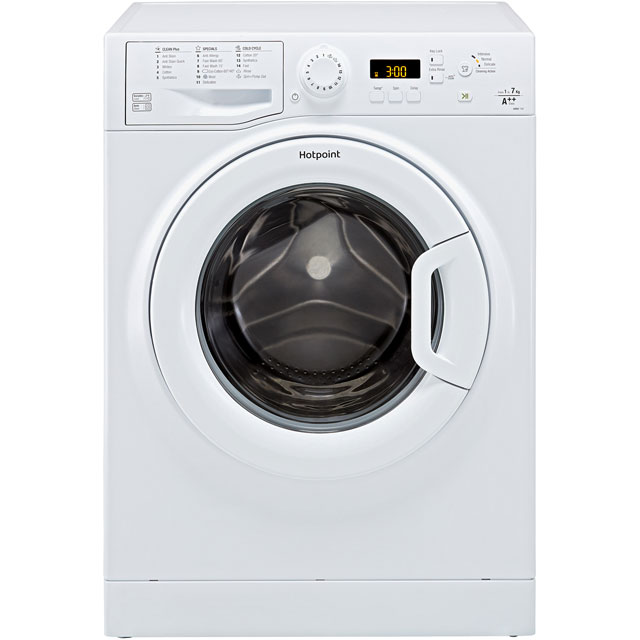 Hotpoint WMBF742PUK.M 7Kg Washing Machine with 1400 rpm - White - A++ Rated - WMBF742PUK.M_WH - 1