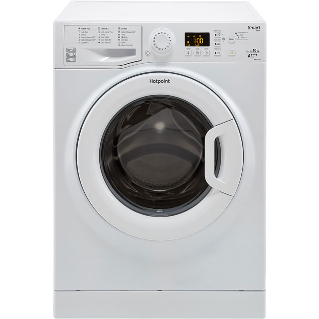 Hotpoint WMFUG1063P 10Kg Washing Machine with 1600 rpm - White - A+++ Rated - WMFUG1063P_WH - 1