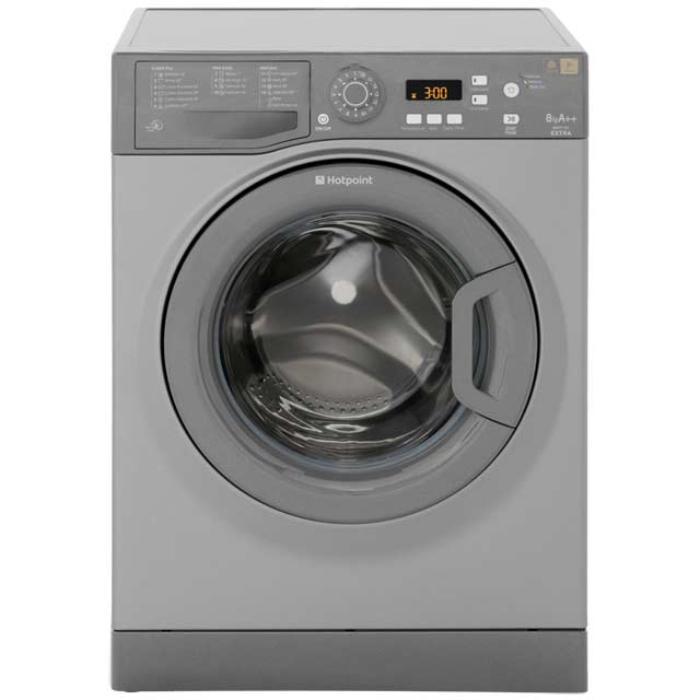Hotpoint Extra WMXTF942G 9Kg Washing Machine with 1400 rpm - Graphite - A++ Rated - WMXTF942G_GH - 1