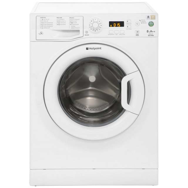 Hotpoint Extra WMXTF842P 8Kg Washing Machine with 1400 rpm - White - A++ Rated - WMXTF842P_WH - 1