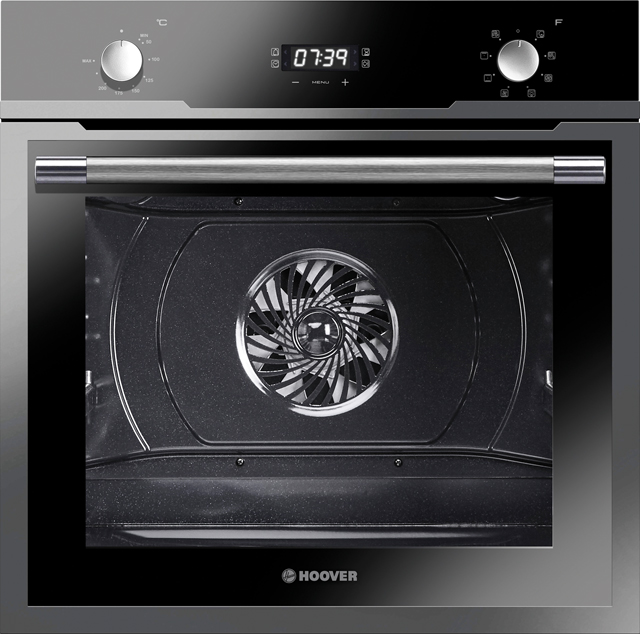 Hoover HOZ3150IN Built In Electric Single Oven - Stainless Steel / Black Glass - A+ Rated