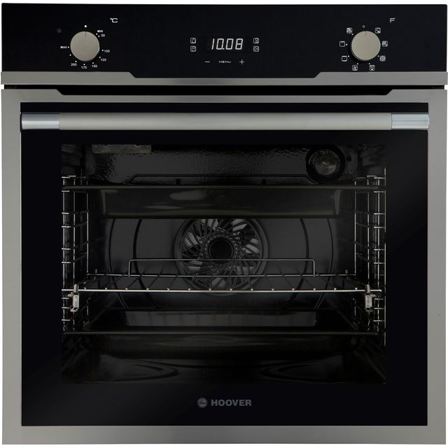 Hoover Vogue HOZ3150IN Built In Electric Single Oven - Stainless Steel / Black Glass - A+ Rated - HOZ3150IN_SS - 1