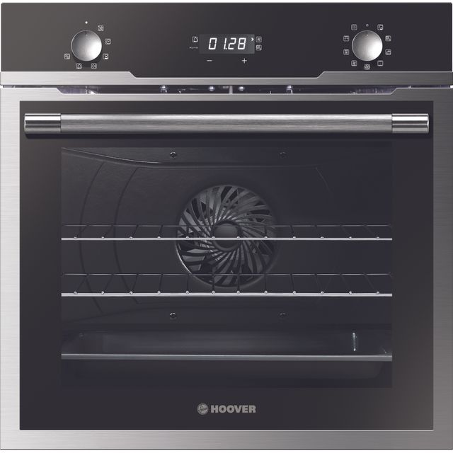 Hoover H-OVEN 500 HOZ5870IN Built In Electric Single Oven - Black / Stainless Steel - HOZ5870IN_BSS - 1