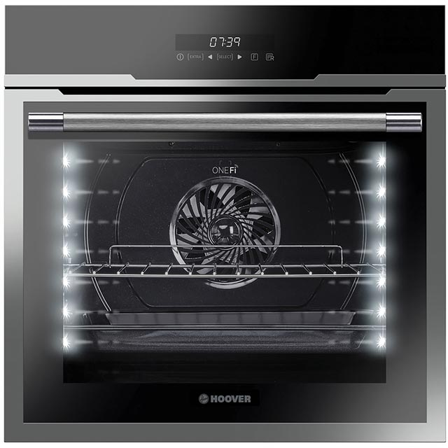 Hoover Vogue HOZ7173IN Wifi Connected Built In Electric Single Oven - Stainless Steel - A+ Rated - HOZ7173IN_SS - 1