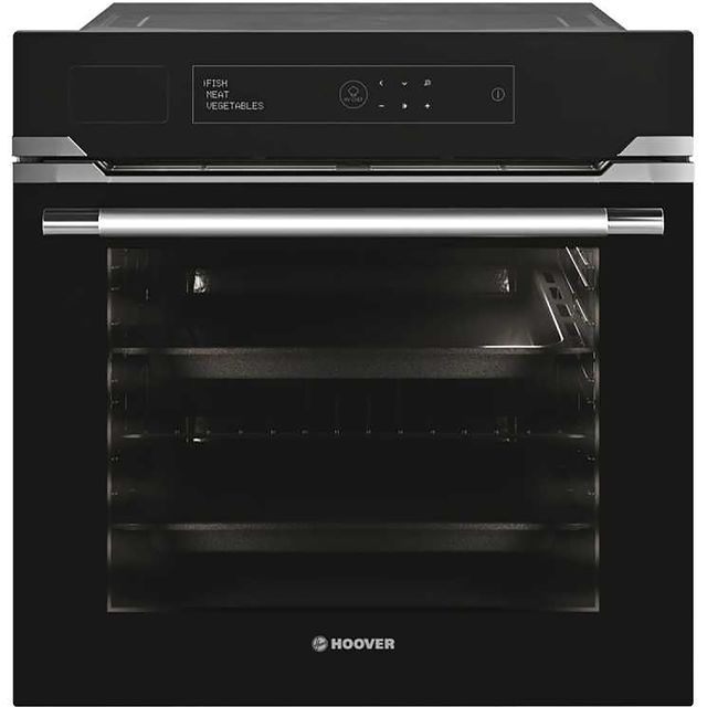 Hoover H-OVEN STEAM 700 PLUS HOZP0447BI Wifi Connected Built In Electric Single Oven - Black - A+ Rated