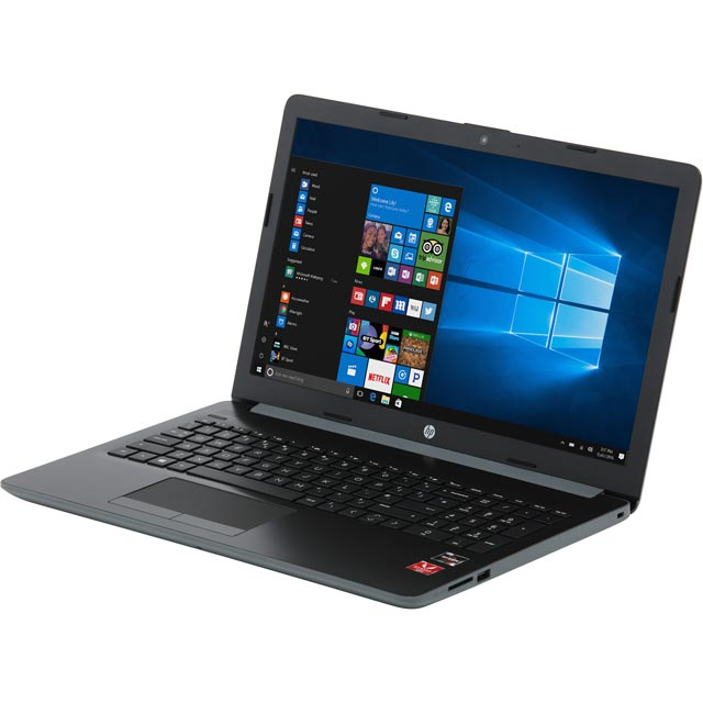 "HP 15.6"" Laptop AMD Ryzen 3 4GB RAM - Grey"