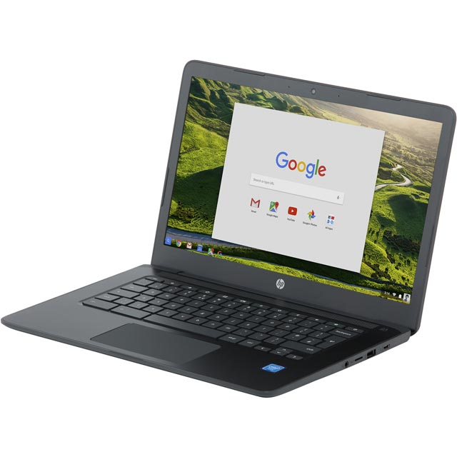"HP 14-ca000na 14"" Chromebook - Chalkboard Grey - 4CL86EA#ABU - 1"
