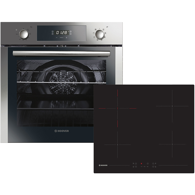Hoover HPKCER60X/E Integrated Oven & Hob Pack in Stainless Steel