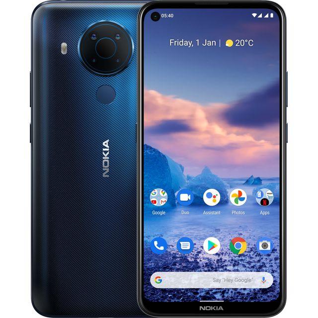 Nokia 5.4 64 Smartphone in Midnight Blue