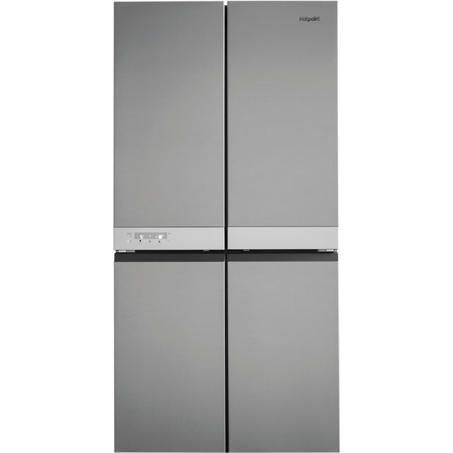 Hotpoint Day 1 Active Quattro HQ9B1L American Fridge Freezer - Stainless Steel Effect - HQ9B1L_SSL - 1