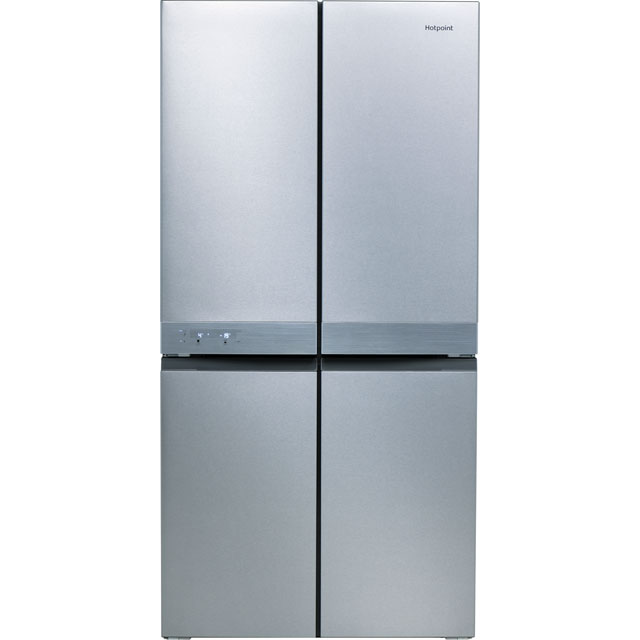 Hotpoint HQ9E1L American Fridge Freezer - Stainless Steel - A+ Rated - HQ9E1L_SS - 1