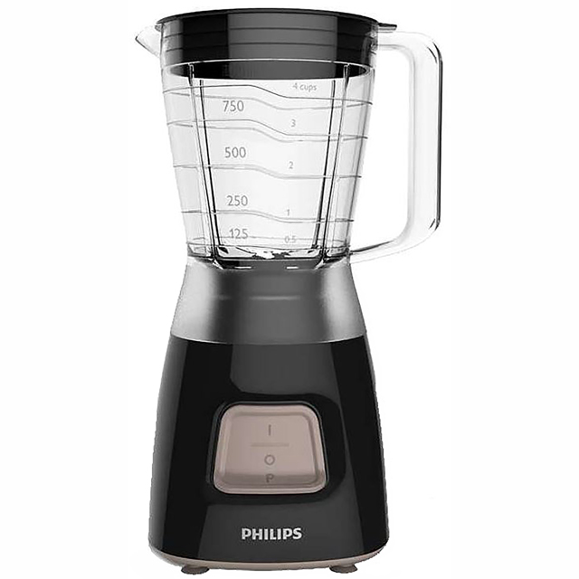 Philips Daily Collection HR2052/91 Food Processor in Black