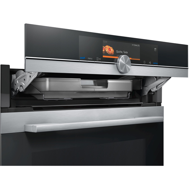 Siemens IQ-700 HR678GES6B Built In Electric Single Oven - Stainless Steel - HR678GES6B_SS - 3