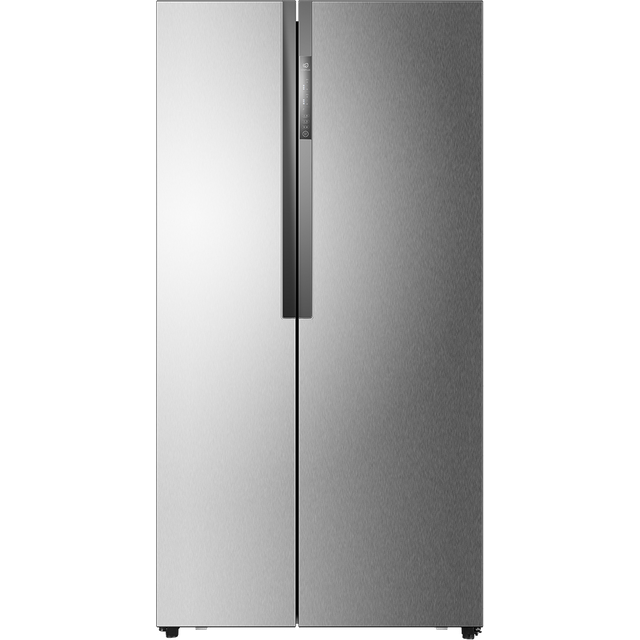 Haier HRF-521DS6 American Fridge Freezer - Silver - A+ Rated