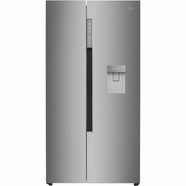 Haier American Fridge Freezer - Silver - A+ Rated