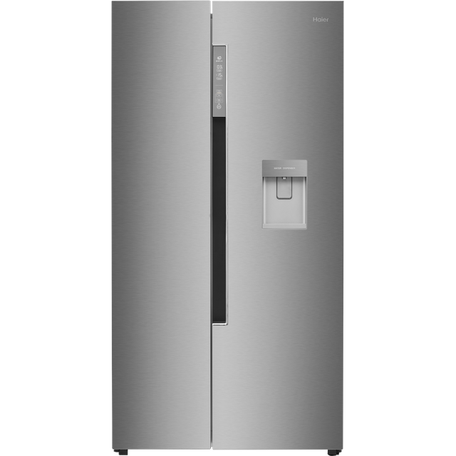 Haier HRF-522IG6 American Fridge Freezer - Silver - F Rated