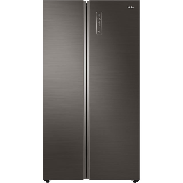 Haier HRF-800DGS7 American Fridge Freezer - Titanium - A++ Rated