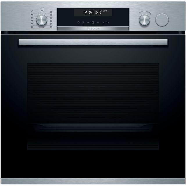 Bosch Serie 6 HRS578BS6B Built In Electric Single Oven - Stainless Steel - HRS578BS6B_SS - 1