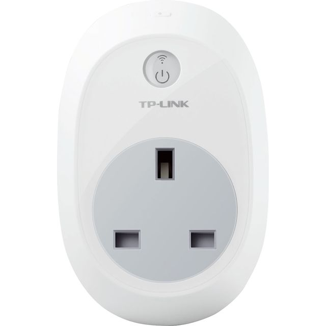 TP-Link WiFi Smart Plug HS100 Smart Power Adapter - White - HS100 - 1