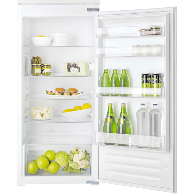 Hotpoint Aquarius HS12A1D.1 Built In Fridge - White - HS12A1D.1_WH - 1