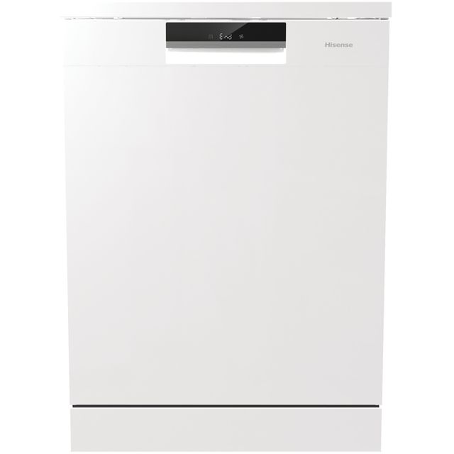 Hisense HS6130WUK Standard Dishwasher - White - A+++ Rated