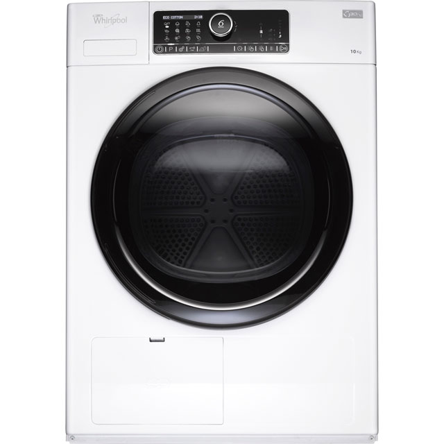 Whirlpool HSCX10431 Free Standing Condenser Tumble Dryer in White