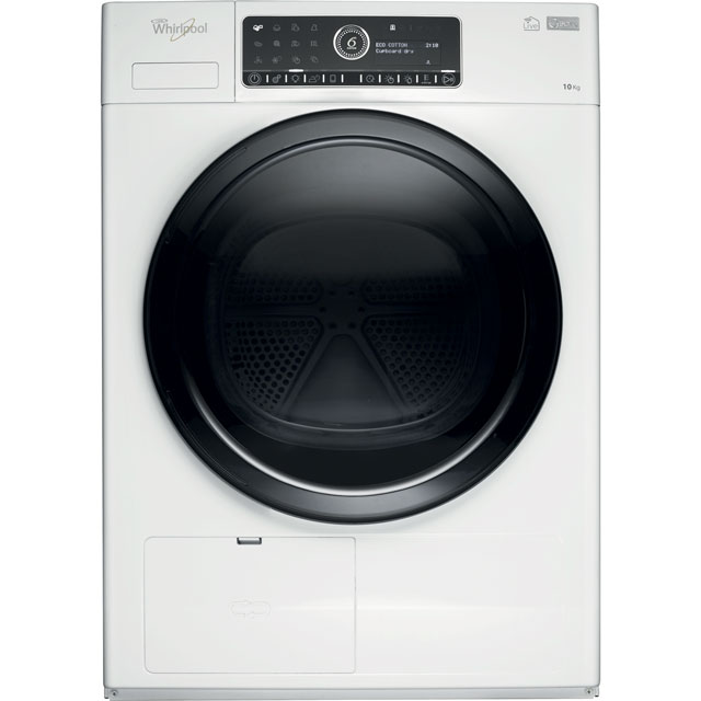 Whirlpool HSCX10441 Free Standing Condenser Tumble Dryer in White