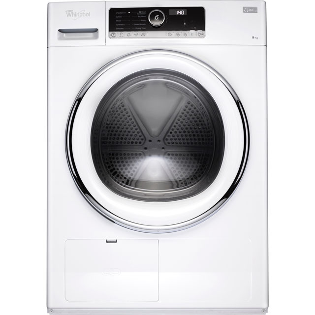 Whirlpool 9Kg Heat Pump Tumble Dryer - White - A++ Rated