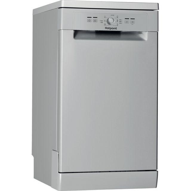 Hotpoint HSFE1B19SUKN Slimline Dishwasher - Silver