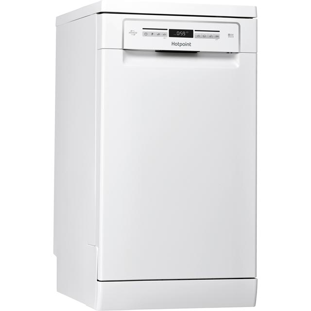 Hotpoint Slimline Dishwasher - White - A++ Rated