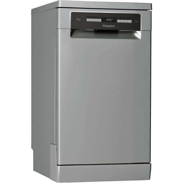 Hotpoint Slimline Dishwasher - Stainless Steel - A++ Rated