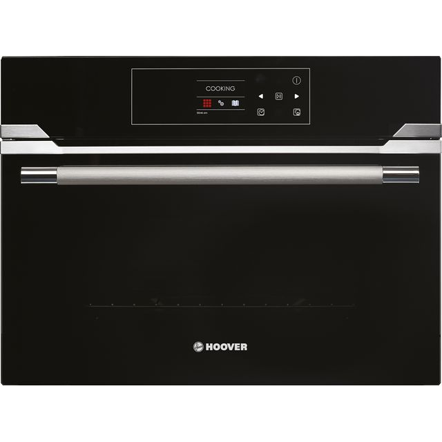 Hoover H-OVEN 700 STEAM HSO450SV Built In Compact Steam Oven - Stainless Steel / Black Glass