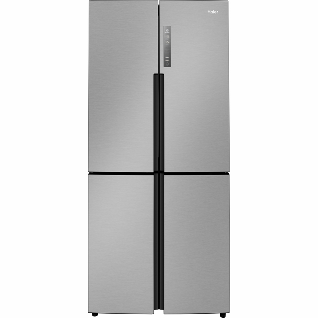 Haier HTF-456DM6 American Fridge Freezer - Stainless Steel - HTF-456DM6_SS - 1