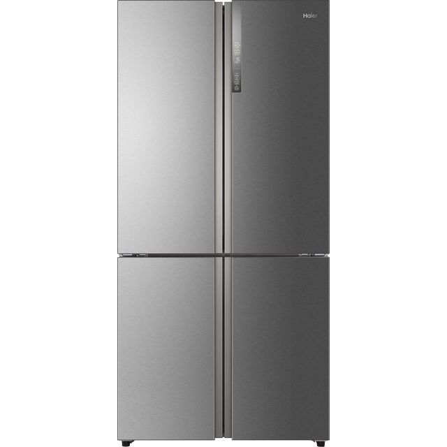 Haier HTF-610DM7 American Fridge Freezer - Stainless Steel Effect - A++ Rated Best Price, Cheapest Prices